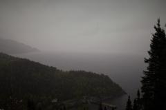 Blick auf den Fjord du Saguenay